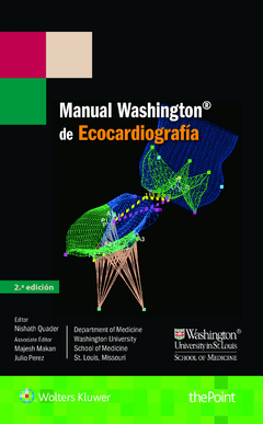 Manual Washington de Ecocardiografía 2° Ed. - ISBN:  9788416781225