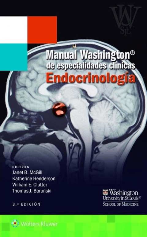 Manual Washington de Endocrinología 3° Ed. - Isbn: 9788416004942