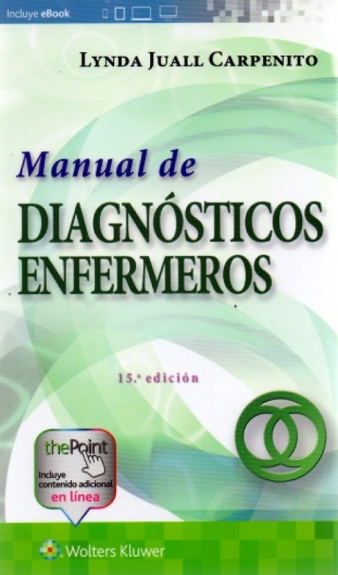 Manual de diagnósticos de enfermería 15° Ed. - Carpenito - 9788416781492