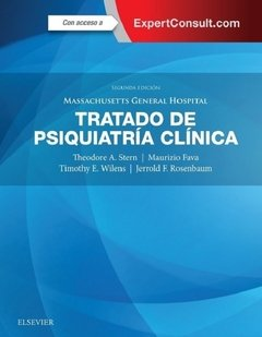 Tratado de psiquiatría clínica, Massachusetts General Hospital - Stern - Isbn: 9788491132127