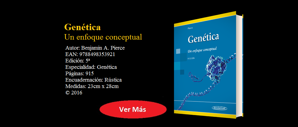 PIERCE - GENÉTICA 5° ED. -  9788498353921