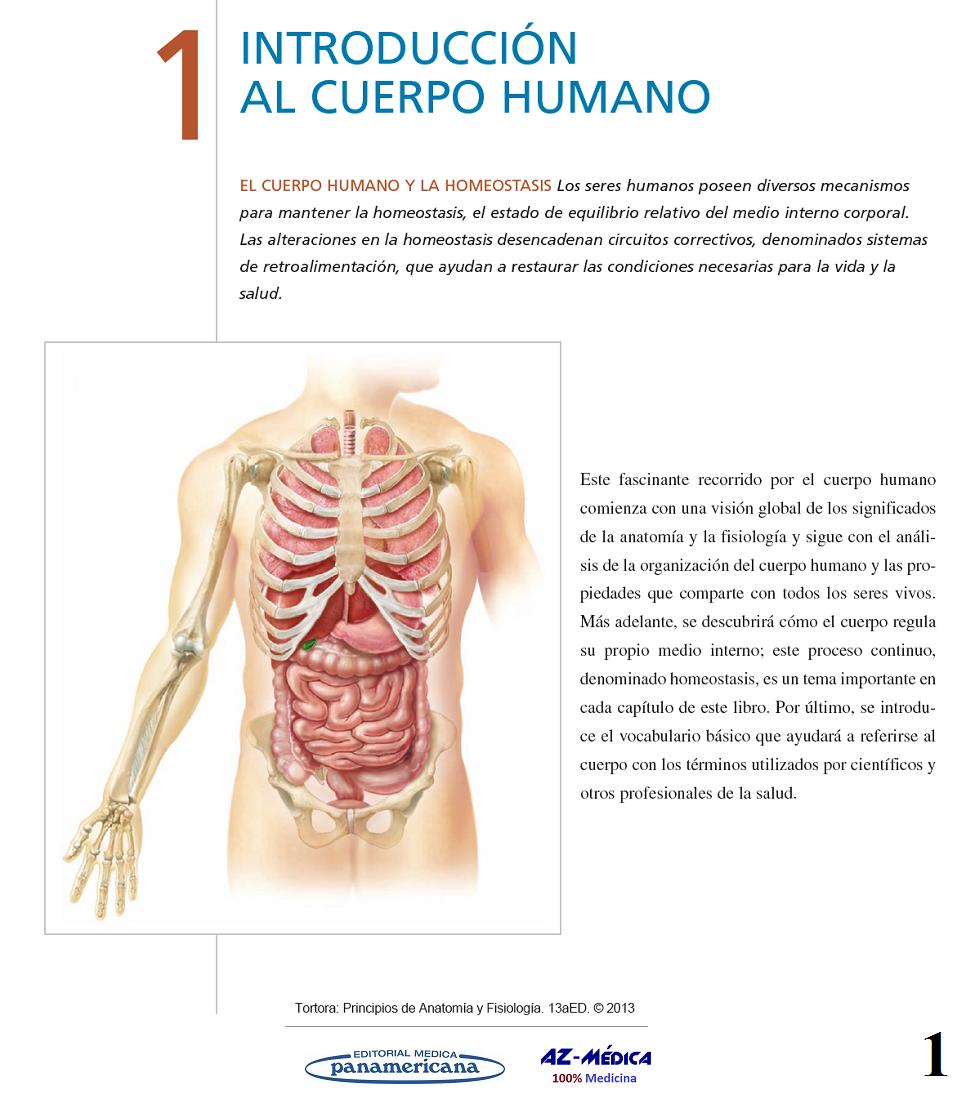 Libreria AZ-Médica - Introducción al Cuerpo Humano