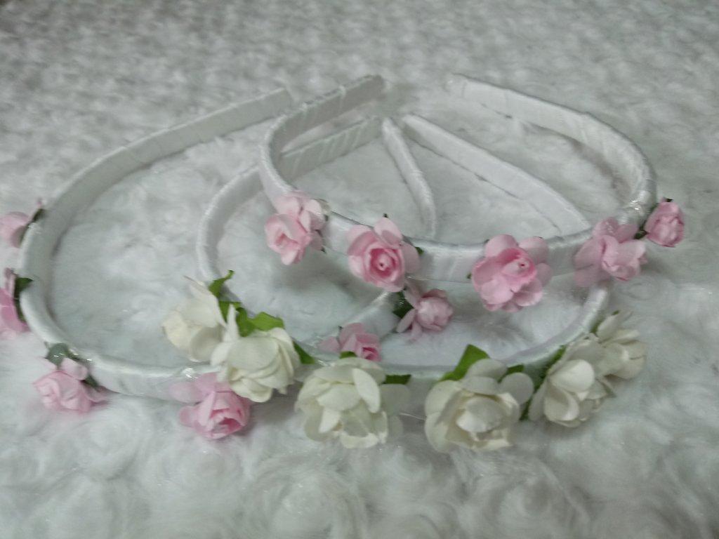 Vinchas con flores