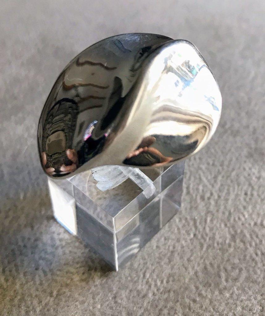 48b01809909b Anillo diseño Beso grande - plata 925