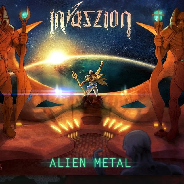 Invaszion - Alien Metal