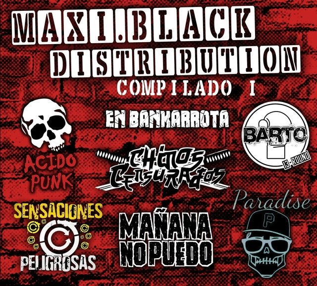 Maxi Black Distribution - Compilado 1