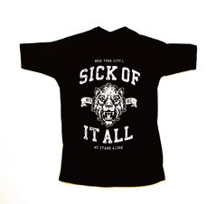 Remera Sick Of It All