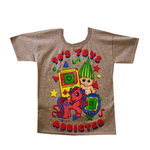 Remera 90's Toys Addicted