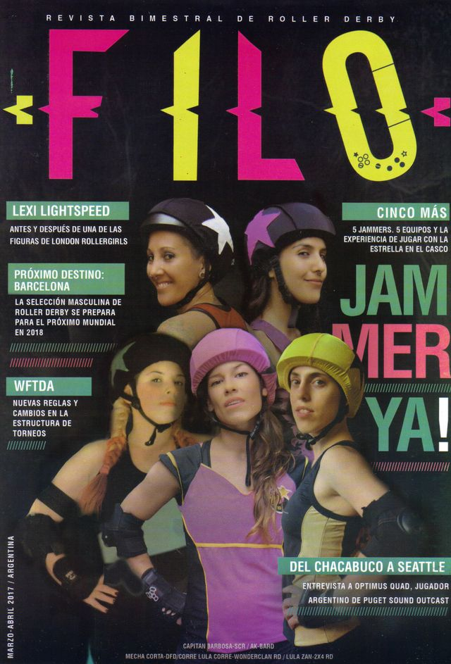 Revista Filo Roller Derby