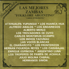 Las Mejores Zambas - Folklore Argentino