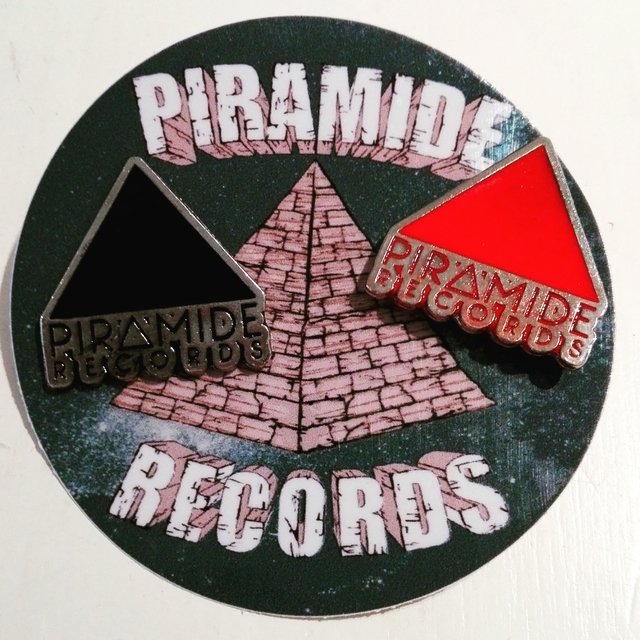 Piramide Records - Pin Metalizado