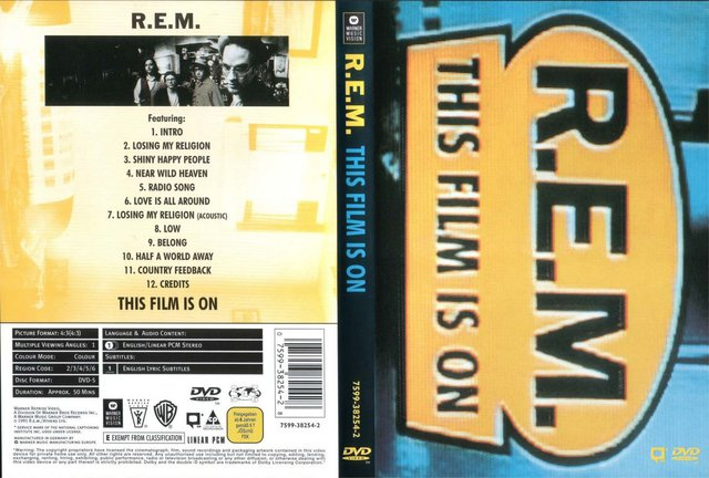 R.E.M. - This Film Is On