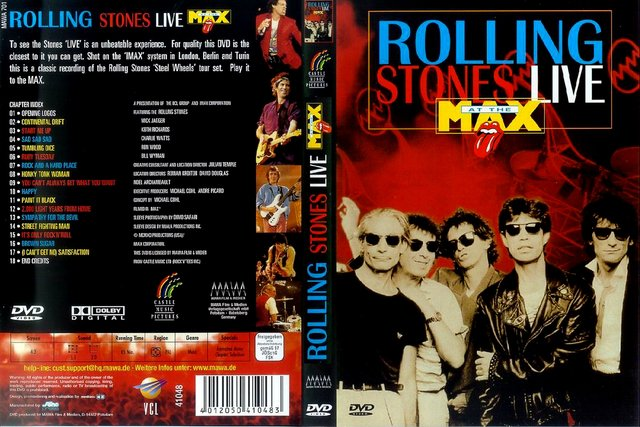 The Roling Stones - Live At The Max