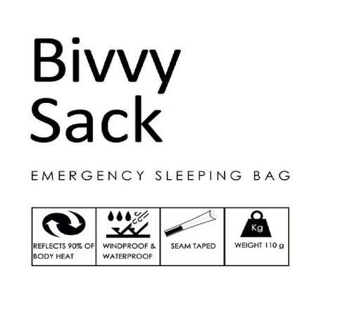 Saco Vivac BIVVY SACK - Black Rock