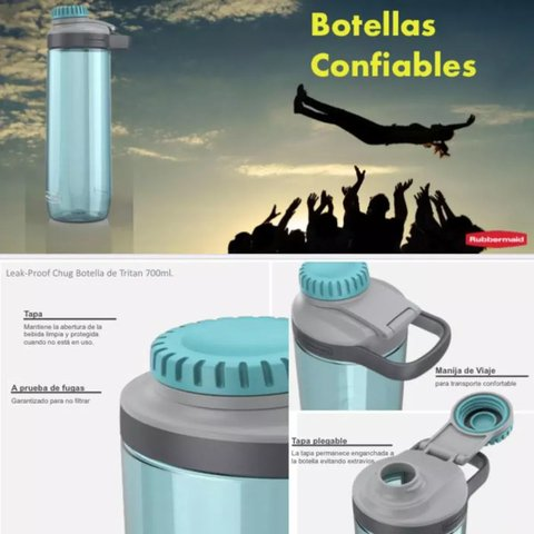 Botella CHUG - Rubbermaid