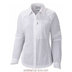 Camisa SILVER RIDGE MANGA LARGA Mujer - Columbia - Camping Center