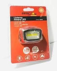 Linterna MINERA LED - Broksol