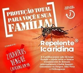 Repelente Icaridina 100ml - Spray