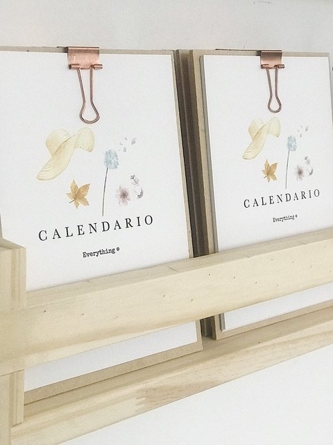 Calendario Everything 2020 en internet