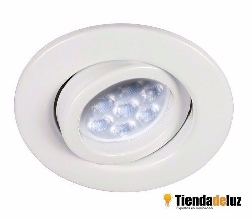 Spot De Emb. Blanco Lamp. Dicro. Led 7w