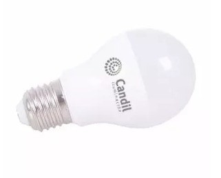 LAMPARA 5.5W FRIA/CALIDA BULBO ROSCA E 27 LED CANDIL