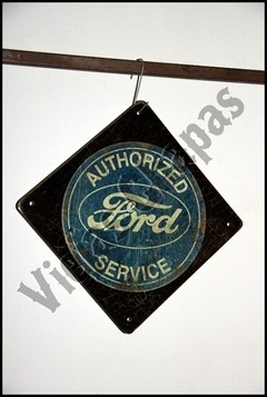 AC-016 ford authorized rombo negro - comprar online