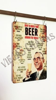 BR-184 how to orden your beer viejo - comprar online
