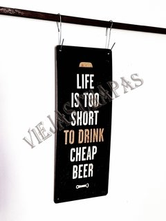 BU-011 Life is too short to drink negro - comprar online