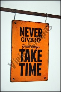FR-076 NEVER GIVE UP - comprar online