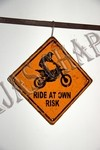MC-005 RIDE AT OWN RISK - comprar online