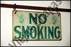 ZA-034 no smoking verde