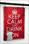ZR-023 keep calm and drink on