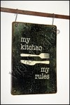 ZR-078 my kitchen my rules - comprar online