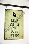 ZR-079 keep calm and love jet sky - comprar online