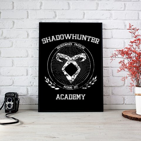 Poster A4 Shadowhunters