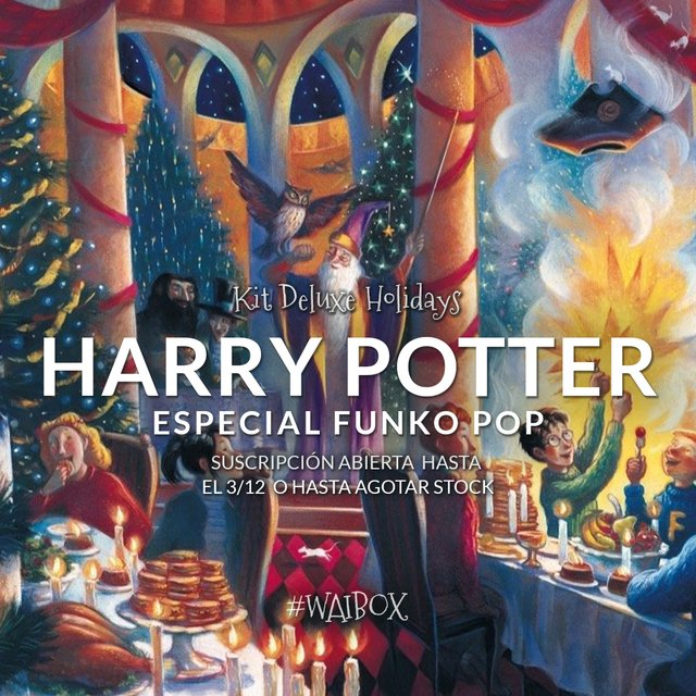 Kit Deluxe Holidays: Harry Potter