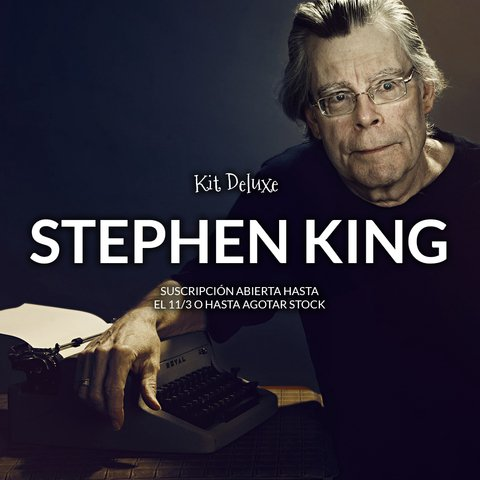 Kit Deluxe STEPHEN KING - comprar online
