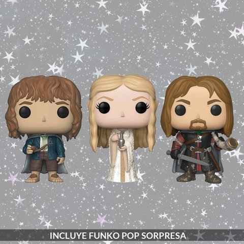 Kit Deluxe Holidays: Lord of the Rings - comprar online