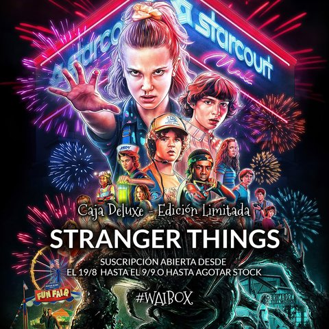 Caja Deluxe Stranger Things