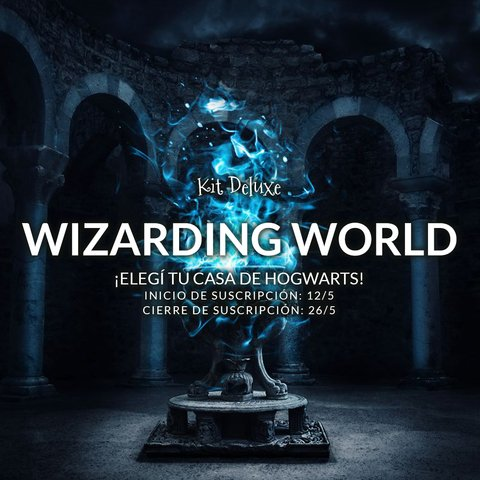 Kit Deluxe Wizarding World