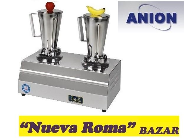 Licuadora profesional doble nueva roma bazar for Bazar profesional