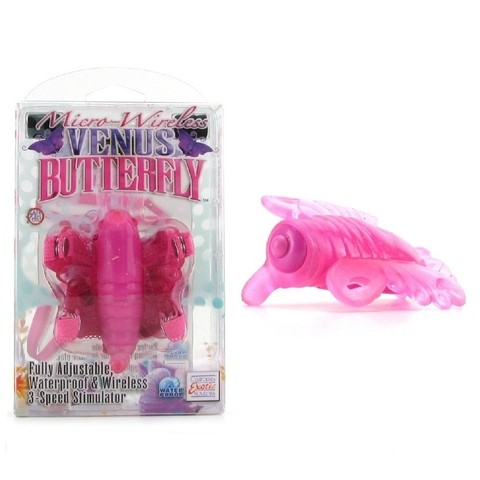 Micro Wireless Venus Butterfly Pink - vibrador de clitoris inhalambrico A2