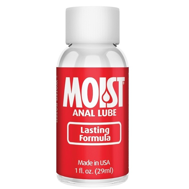 Moist Anal Lube 1 oz - lubricante anal - Cumbres
