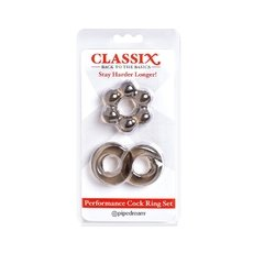 Kit anillos para erección - Performance cock ring set