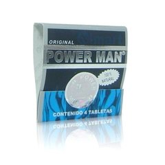 Power Man paq. 4 tabletas - Vigorizante masculino - Cumbres