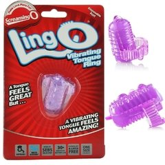 Anillo vibrador para lengua -  Screaming o Lingo Vibrating tongue ring