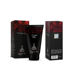 Gel Lubricante para hombre 50 ml - Titan Gel Lubricant for Penis