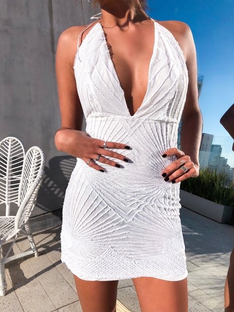 GIA DRESS WHITE