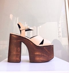 SUPER WOOD SANDAL NUDE en internet