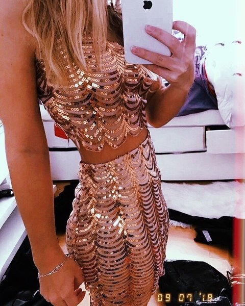 CONJUNTO SHINE GOLD